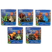 The Good Dinosaur's 10 friends: Arlo & Forrest Woodbush, Nash & Mary Alice, Bubbha & Bisodon, Ramsey & Thunderclap, and Butch & Will (5 seperate packages, 2 figures per package)