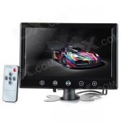 """9"""" monitor de pantalla de coche TFT Displayer w / Stand + Touch Key + controlador remoto - Negro"""