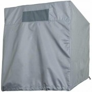 Classic Accessories Down Draft Evaporative Cooler Cover - Gray, Fits 42Inch W x 47Inch D x 28Inch H Coolers, Model 52-024-241001-00