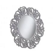 Art.518 Specchiera Ovale Tortora