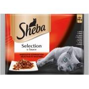 Котешка храна 4 броя х 85 г Sheba Cuisine Po птичи ястия