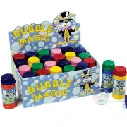 Baker Ross Party bubbles - Box of 24 bottles of kids blow bubbles.70ml per bottle with blower tool included.