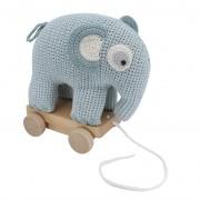 Sebra Fanto the Elephant Trek olifant gehaakt powder blue
