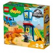 LEGO DUPLO Jurrasic World Turnul lui T-Rex 10880 pentru 2-5 ani