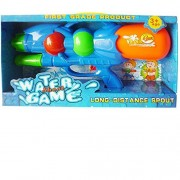 Tar Heel MP - BLUE Long Range Water Gun - Master Blaster - Water squirt for kids