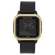 Rip Curl Next Tide Leather Watch Gold