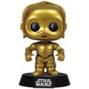 Figurina Funko Star Wars C-3Po Pop! 10Cm Vinyl Bobble Head