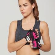 Myprotein Dames Training Handschoenen - S - Roze/Zwart