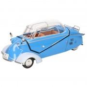Goki Miniatuur model auto Messerschmitt KR200 blauw 16 cm