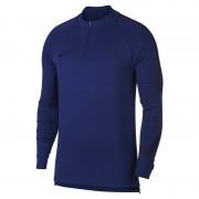 Haut de footballà manches longues Nike Dri-FIT Squad Drill pour Homme - Bleu