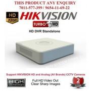 HIKVISION 2 MP FULL HD DS-7104HQHI-F1 Turbo HD 1080P 4Ch. HD DVR Standalone