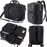 FreeBiz Laptop Bag Convertible Backpack Business Briefcase Messenger Bag for 17.3 Inch Laptop Computer Notebook MacBook