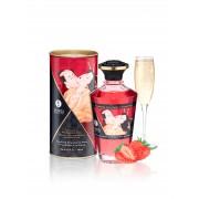 Aphrodisiac Warming Oil - Strawberry Wine