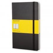 Moleskine QP061 Caderno 240 Folhas Quadriculado Preto