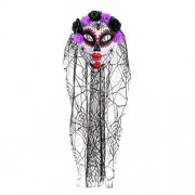 Halloween Joker Mask Masquerade Lace Veil Party Dress Up Skull Full Face Masks For Costume Party