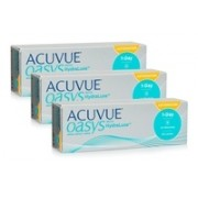 Acuvue Oasys 1-Day with HydraLuxe for Astigmatism (90 lentile)