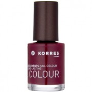 Korres Decorative Care Nail Colour esmalte de uñas tono 57 Deep Red 10 ml