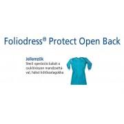 Hartmann Foliodress műtéti kabát Protect hátul kötős, krepp+törlővel XL 36db