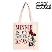 Geantă Multifuncțională Minnie Mouse 702892 Alb Bumbac