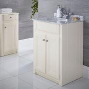 Hudson Reed Meuble-lavabo 60x60cm Charlton Ivoire