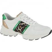 Graceland Witte sneaker panterprint Graceland maat 37