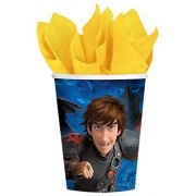 Hallmark How to Train Your Dragon 2 9 oz. Cups (8)