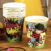 Beano Dennis The Menace Paper Cups