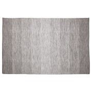Grijs katoenen design tapijt 'WASH' 160x230 cm