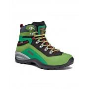 Asolo: Enforce GV JR - dětské boty Barva: lime/black, Velikost: 37