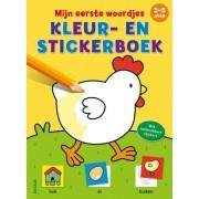 Deltas Mijn eerste woordjes kleur en stickerboek (3 5 jaar)