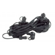 Garden Lights Kabel 10m 120w 4st kopplingar