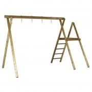 Plus Danmark Schommelframe vuren geimpregneerd Ladder 346 x 327 x 210 cm (B x L x H)