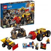 Lego city 60186 mining trivella pesante da miniera