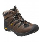 KEEN Koven Mid WP K Dětské trekové boty KEN1204072403 cascade brown/black 7(24)