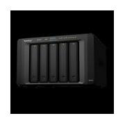NAS SYNOLOGY DS1517 5 BAHIAS AMPLIABLES HASTA 15/NÚCLEO CUÁDRUPLE 1.7GHZ/2GB DDR3/LAN GIGABITX4/USB 3.0 X2