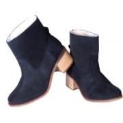 Urban Country Ankle Boots For Women(Navy)