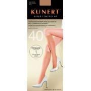 Kunert Super Control 40 - Semi-opaque light support knee highs