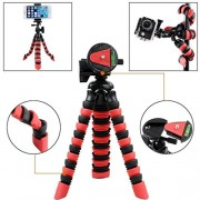 ELECTROPRIME® 22cm Flexible Tripod with Quick Release Plate Tripod Mount for Phone Camera
