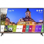 Televizor Smart LED LG 108 cm Full HD 43LJ614V, WiFi, USB, CI+, Grey