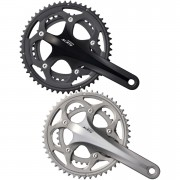 Shimano 105 FC-5750 Compact Bicycle Chainset - 50-34T 175mm - Black