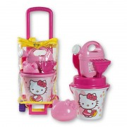 Troler cu jucarii de nisip Hello Kitty Androni Giocattoli