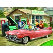 Puzzle 1000 piese the pink caddy-nestor taylor