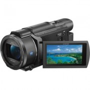 """Sony Handycam FDR-AX53/B 4K Camcorder, 3"""""""", Wi-Fi, NFC, CMOS"""
