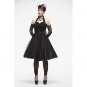 "šaty dámské HELL BUNNY ""Harmony Black"" - 4051BLK"
