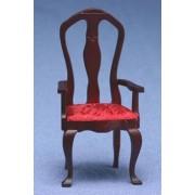 Dollhouse Queen Anne Arm Chair