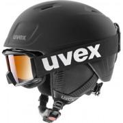 UVEX Heyya Pro Set (Flizz LG Black) Pure Black 54-58 cm 20/21