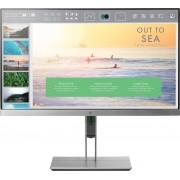 HP EliteDisplay E233 LED display 58,4 cm (23'') Full HD Zwart, Zilver
