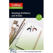 INFOA Collins English Readers 2 - Amazing Architects and Artists with CD - Silvia Tiberio