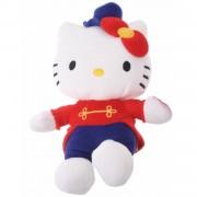 Jemini hello kitty knuffel clown meisjes rood 17 cm