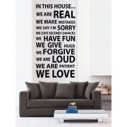 In This House 2 *Promotie* 97x180cm Negru